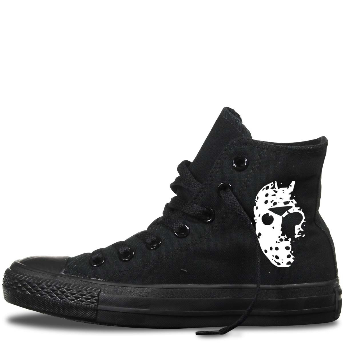 Jason voorhees custom converse all star mens damen horror friday 13th     |  | Online Kaufen