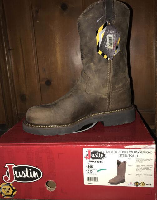 Justin Work BOOTS Mens J-max Rugged