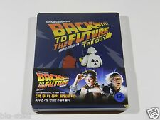 Back to the Future Trilogy Blu-ray Steelbook [Korea] OOS/OOP MINT