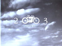 Harley Davidson 2003 100th Full Line Up Brochure Catalog Includes V-rod