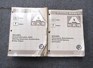 2005 chevrolet chevy cobalt pontiac pursuit a car service manual set rh ebay com 2006 pontiac pursuit owners manual pdf 2006 pontiac pursuit owners manual