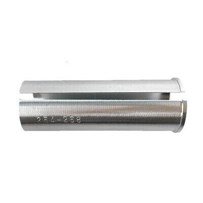 Convert 27.2mm Seatpost to 30.4mm Bike Tube SpeedPark 80mm Alloy Shim Adapter