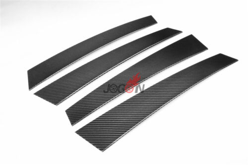 Car Window Pillar Molding Post Trim For Porsche Panamera 971 2017 Real Carbon