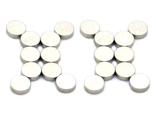 20x N-35 Neodym-Magnet Ø3x1mm Magnete für Reedkontakt,Reedkontake,Reed,Hall