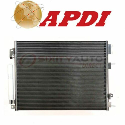 AC Air Conditioning Heating qf APDI AC Condenser for 2011-2017 Dodge Charger