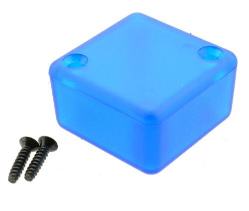 1551MTBU Blue Genuine Hammond Translucent ABS Enclosure Box 35 x 35 x 20mm