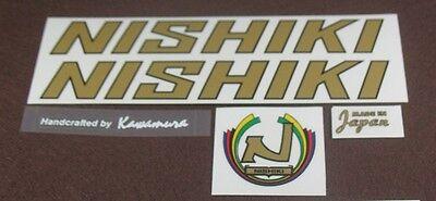 Nishiki decal set of 5 (sku 682)