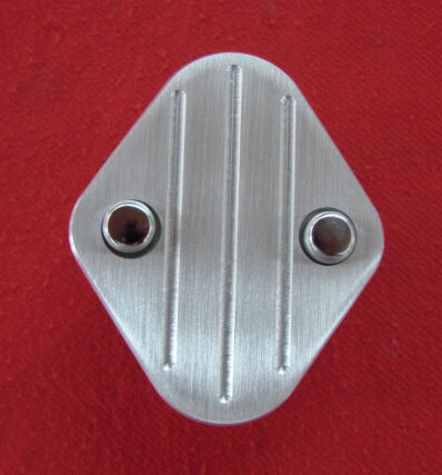 235 Chevrolet Inline Six Fuel Block off plate kit, CNC Machined