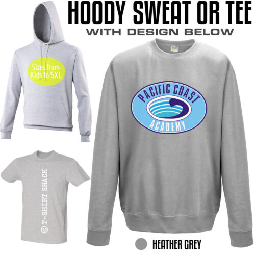 PCA Pacific Coast Academy TV T-shirt Sweatshirt or Hoody from Zoey 101 PC275