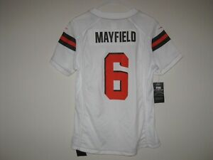 best sneakers 2d80d 30586 Details about NIKE BAKER MAYFIELD CLEVELAND BROWNS VAPOR COLOR RUSH JERSEY  WOMENS LARGE $100