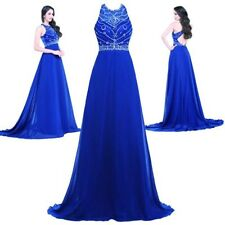 Long Women's Dress Chiffon Evening Party Formal Bridesmaid Prom Ball Gowns Dress