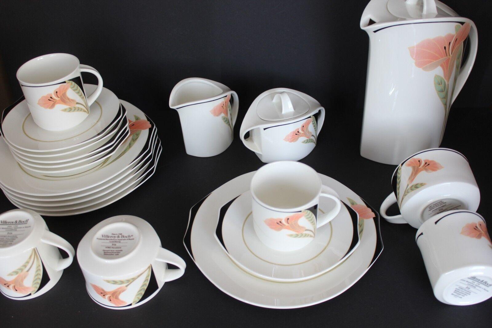 Villeroy&Boch  Iris Kaffee Teeservice für 6 Personen