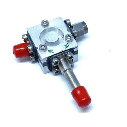 9.95-12.25GHZ 9950-12250MHZ SMA COAXIAL CIRCULATOR ISOLATOR MA7Y050-9 MICROWAVE