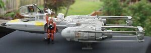 VINTAGE-STAR-WARS-COMPLETE-Y-WING-FIGHTER-KENNER-ACTION-FIGURES-WORKS