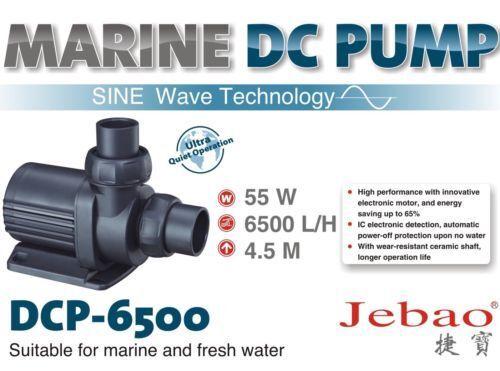 Jebao Jecod DCP 6500 Water Return Pump Sine Technology Marine Tank UK Seller