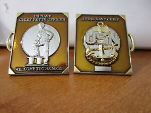 United-States-Navy-Chief-039-s-Charge-Book-USN-3D-CPO-Challenge-Coin