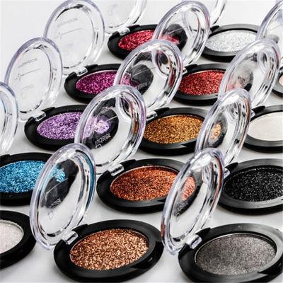 New Beauty Glitter Eye Shadow Pigment Waterproof Shimmer Metallic Eyeshadow