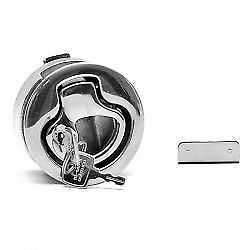 SOUTHCO M1-546 FLUSH PULL STAINLESS STEEL LOCKING BOAT LATCH