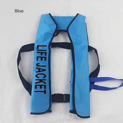 Adult Automatic Manual Inflatable Life Jacket 150N Sailing Boating Survival Vest