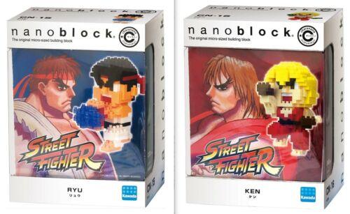 Details about  /Nanoblock Street Fighter Ryu CN-15 /& Ken CN-16 set Building Block Kit