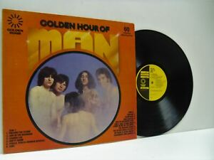 MAN golden hour of man LP EX/EX, GH 569, vinyl, compilation, greatest hits, best