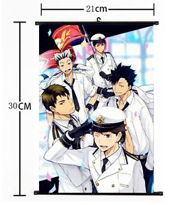 Anime Haikyuu high school volleyball Wall Poster Scroll Home