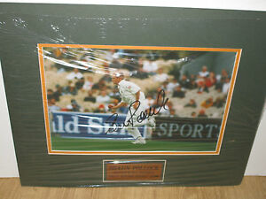 Shaun-Pollock-South-Africa-signed-ODI-Bowling-Photo-8x10-matted-plaque-COA