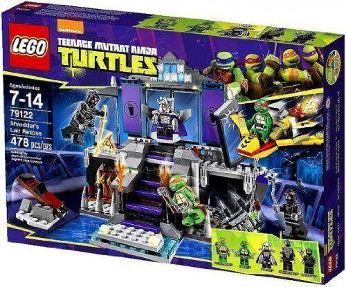LEGO ® NINJA turtles ™ 79122  sauvetage de shrougeders cachette NEUF nouveau OVP MISB  vente pas cher