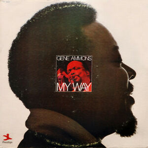 Gene-Ammons-MY-WAY-33-rpm-Record-Prestige-PR-10022-Jazz