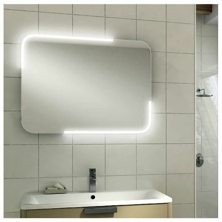 Hib Orb 600mm LED Illuminated Mirror Sensor Switch Landscape IP44 Rated