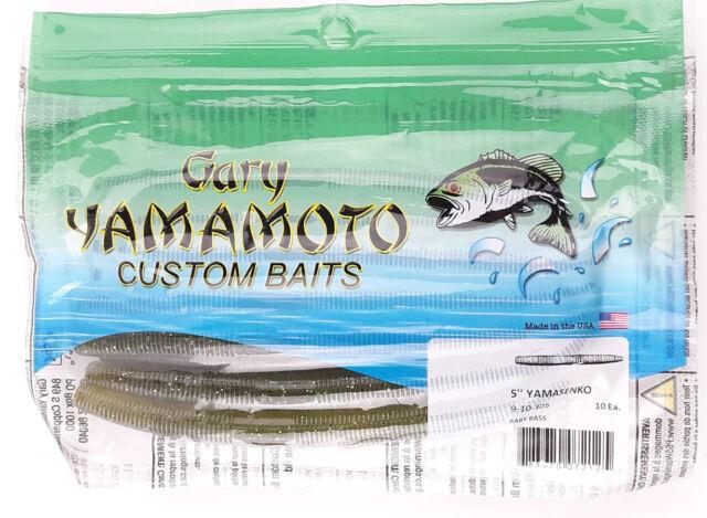 "Yamamoto 9s-10-042 Senko Worm 4/"" 10pk Watermelon for sale online"