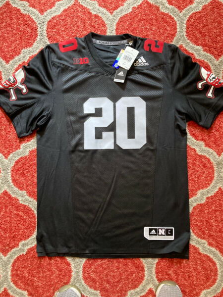 Adidas Nebraska Cornhuskers #20 Blackshirts Premier Football ...