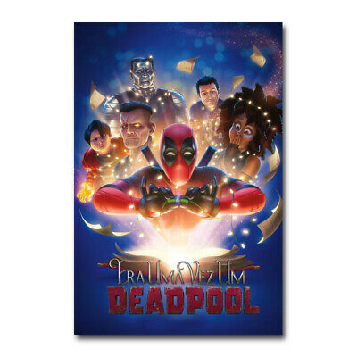 Deadpool Superheroes Art Silk Fabric Poster Print 12x18 24x36 inch Star Wars