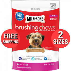 Mini-Brushing-Chews-Daily-Dental-Dogs-Treats-Bones-Per-Bag-12-Essential-Vitamins