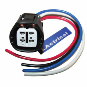 Details about ALTERNATOR REPAIR PLUG HARNESS 4-WIRE PIGTAIL CONNECTOR on