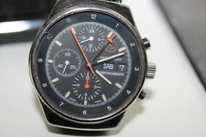 Prosch Design by Orfina Military Chronograph with Lemania Movement