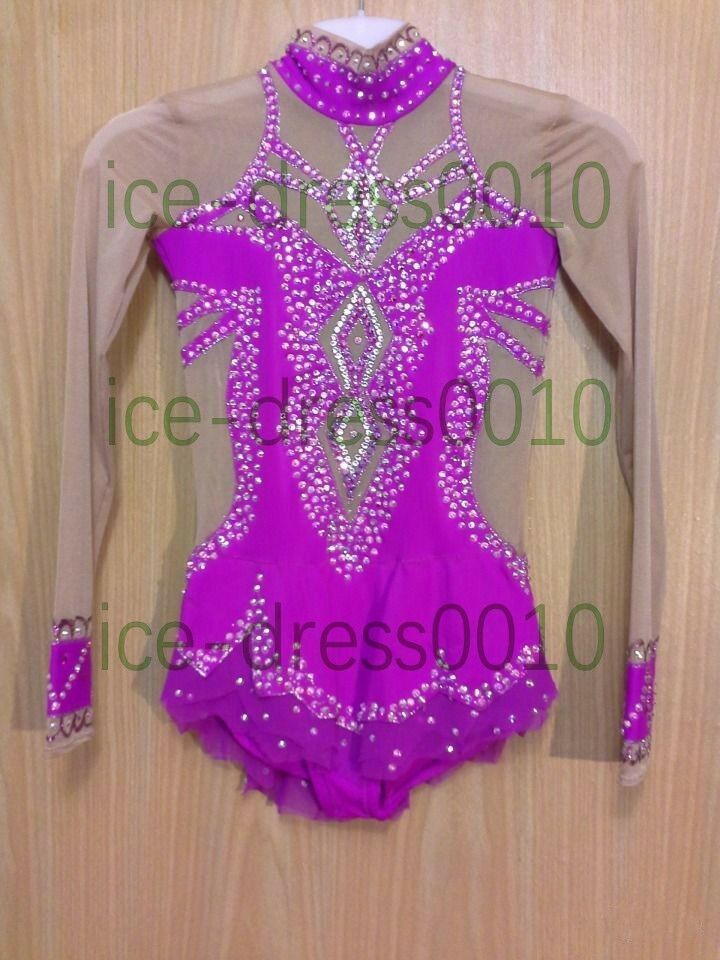 New style Adult Rhythmic Gymnastics Dance leotard Figure Ice Skating Dress 91015