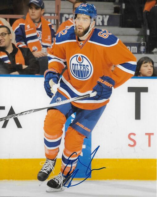 Edmonton Oilers Eric Gryba Signed Autographed 8x10 NHL Photo COA W