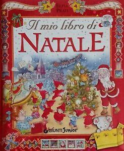 Immagini Di Copertina Di Natale.Il Mio Libro Di Natale Giunti Junior Ed F To Cm 23x27 Copertina Rigida Ebay