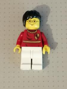 LEGO Tournament Uniform Paneled Shirt HARRY POTTER MINI FIG Harry Potter