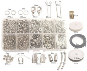 Image Is Loading Jewelry Making Supplies Kit 1014pcs Split Jump Ring