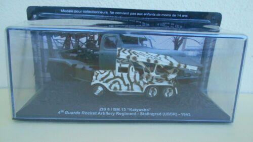 DIE CAST TANK KATYUSHA //ZIS-6//BM-13 URSS  SCALA 1//72 #Q#