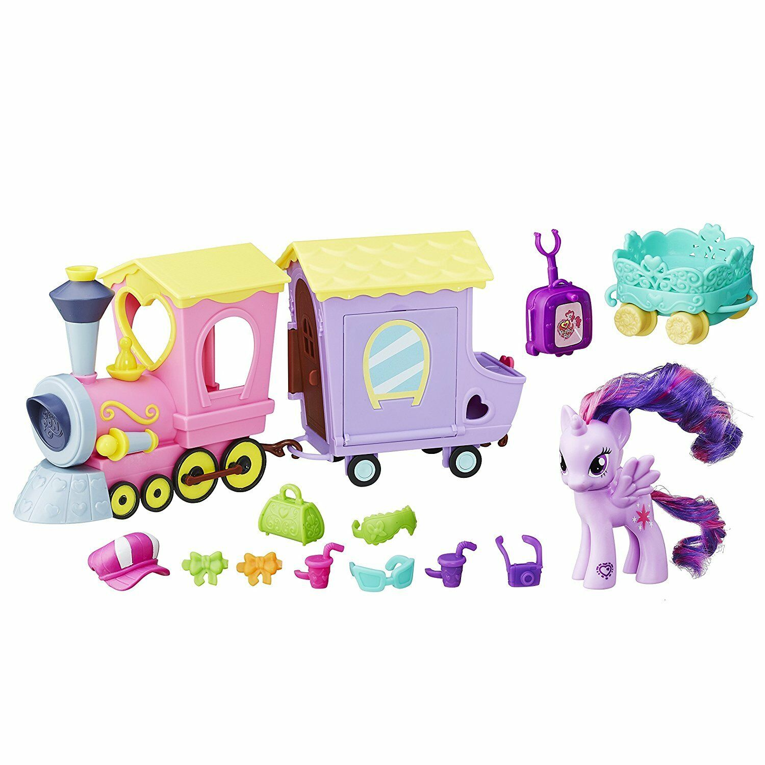 My Little Pony Explore Equestria Friendship Express Train Ages 3+ New Toy Girls