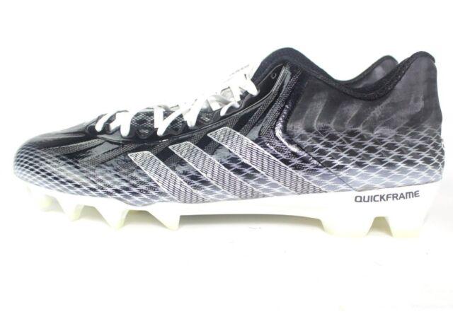 17b08dc87c5 adidas Crazyquick Men s Football Cleat 15 D US Black-white for sale ...