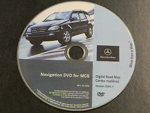 MERCEDES-BENZ-ML-NAVIGATION-NAV-DVD-ROM-OEM-S0014-0070-406-BQ-6460203