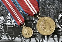 Queen Elizabeth II DIAMOND JUBILEE MEDALS British Made Full Size AND Miniature
