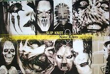 """SLIPKNOT """"9 LIVES"""" POSTER FROM ASIA - Tight Head Shots Of The Band, Metal Music"""