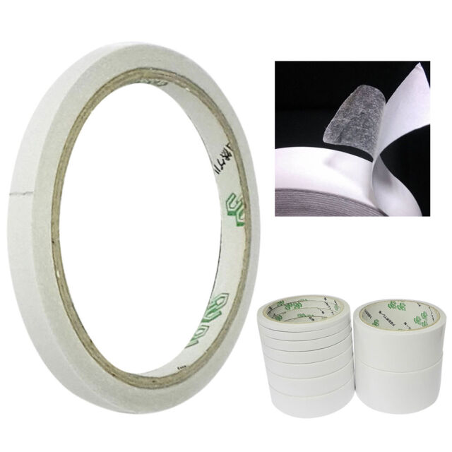 """3 Rolls Clear Office Gummed Tape Stationery Adhesive Tape 12mm x 15yard/_1/"""" Core"""