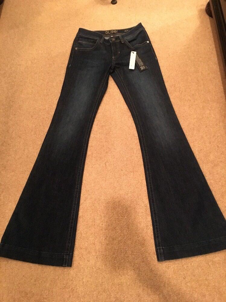 DL1961 Joy Flare 4-Way Stretch Jeans Size 26 NWT