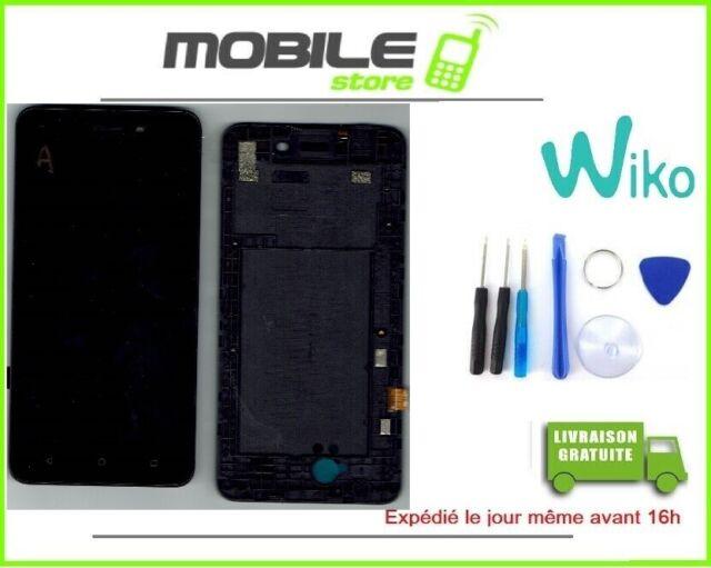 Vitre Tactile + Ecran LCD + Châssis original pour WIKO Sunny 3 + OUTILS